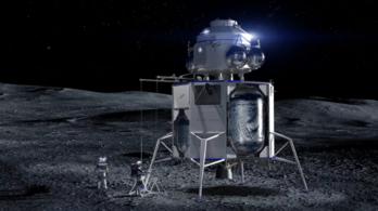 Leleplezték a szupergazdag Jeff Bezos holdraszálló űrhajóját