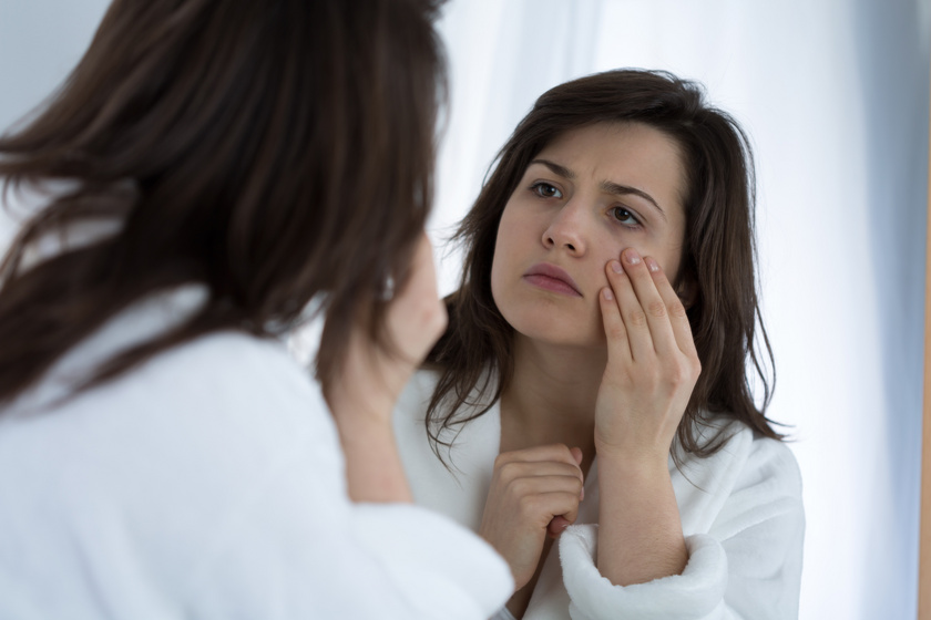 Melyik bőrprobléma milyen betegségre utal? Az arcon mutatjuk az elváltozásokat
