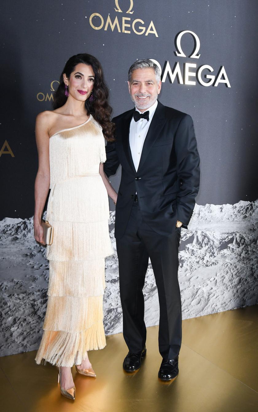 George Clooney nem is lehetett volna büszkébb gyönyörű nejére.