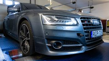 Totalcar Erőmérő: Audi S8 Plus 4.0 TFSI