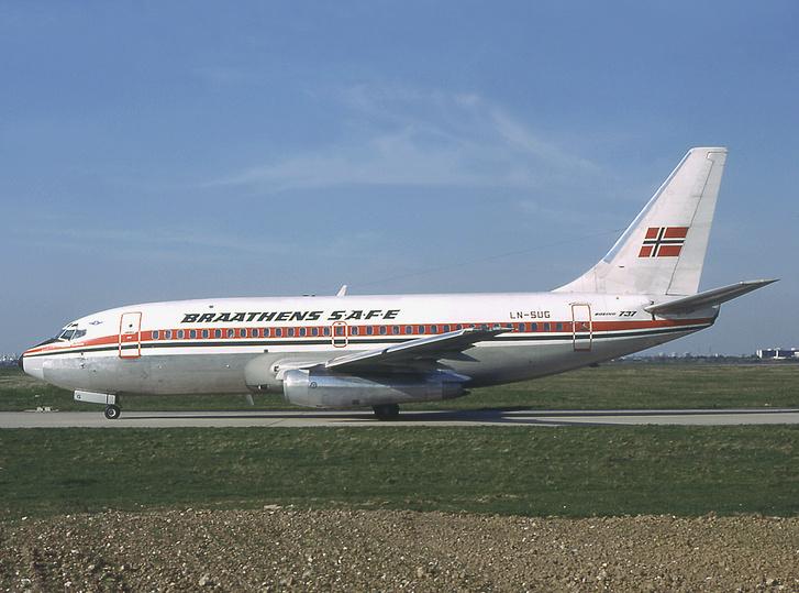 Az eltérített gép 1982-ben.