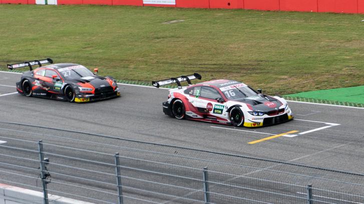 Az Audi és a BMW külön ligát képviseltek