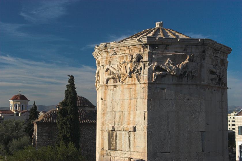 Úgy hitték, varázsos világtükör van a tetején: 2 ezer éve épült az athéni Szelek tornya