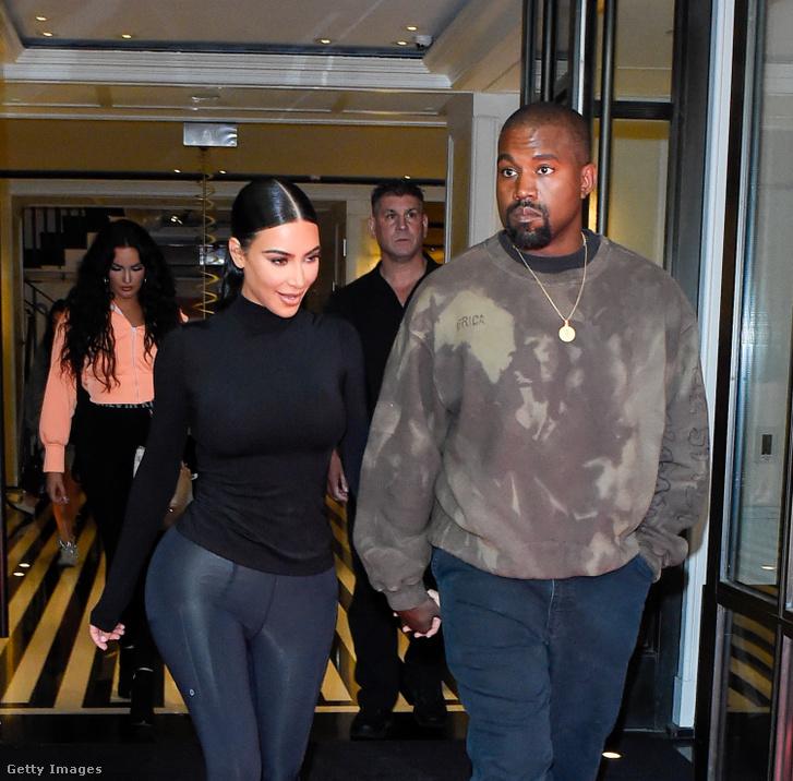 Kim Kardashian és Kanye West 2019 május 7-én.