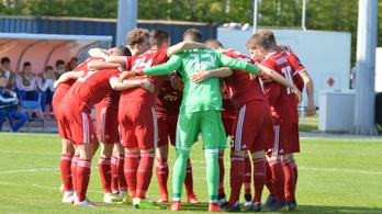 94. perces góllal nyert az U17-es futballválogatott az Eb-n