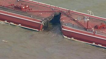 Ötvenezer hordó olaj ömlött a tengerbe Texas partjainál