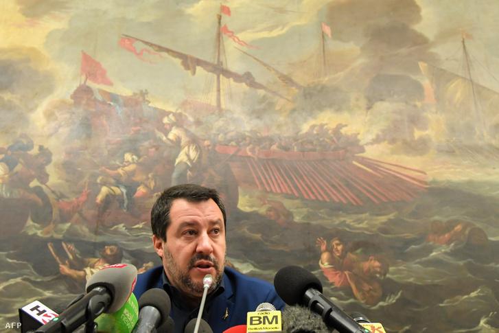Matteo Salvini olasz belügyminiszter