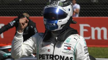 Bottasé a spanyol pole, megint elverte Hamiltont