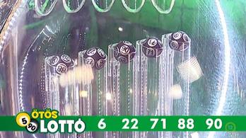 Az e heti ötös lottó nyerőszámai a következők