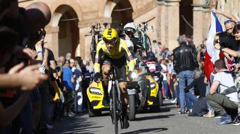 Giro: sokkoló előnyt szerzett a favorit a döghegyen