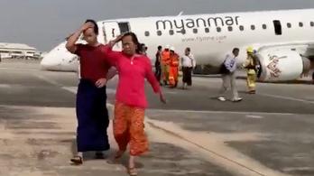 Orrfutómű nélkül tett le egy utasszállítót a pilótája Mianmarban