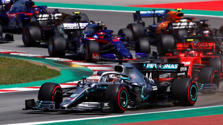 Hamilton vad rajttal döntötte el a Spanyol GP-t