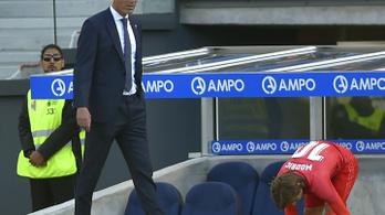 Megint kikapott Zidane Realja