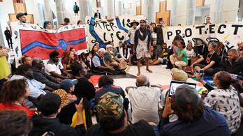 Ausztrál bennszülöttek nemzetközi segítséget kérnek a klímaváltozás miatt