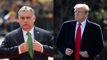 Este nyolckor fogadja Trump Orbánt