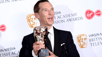 Benedict Cumberbatch végre megkapta a BAFTA-díjat