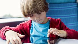 A WHO megmondja: ennyi időt tölthet a gyerek a képernyő előtt