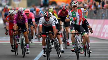 Giro: Negyedórát ünnepelt a győztes, majd elvették az első helyét