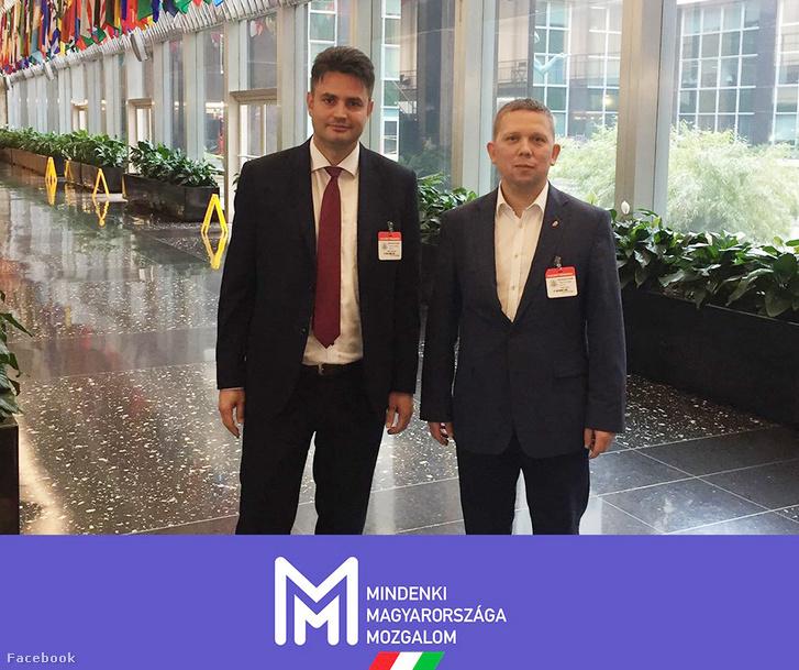 Márki-Zay Péter és Kész Zoltán