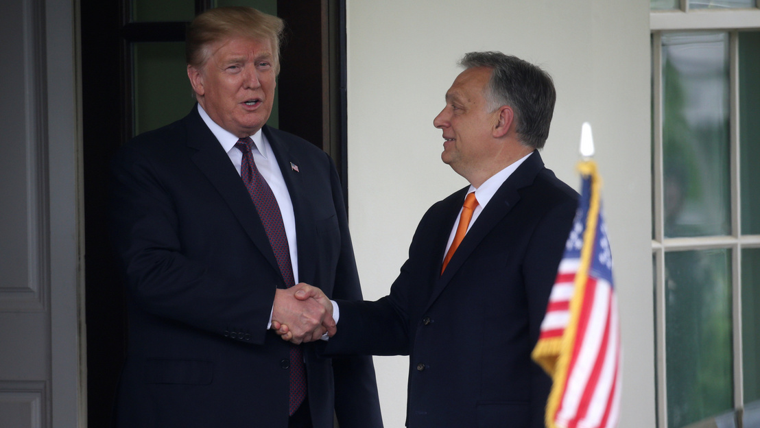 Trump: a két ország kapcsolata nagyon jó