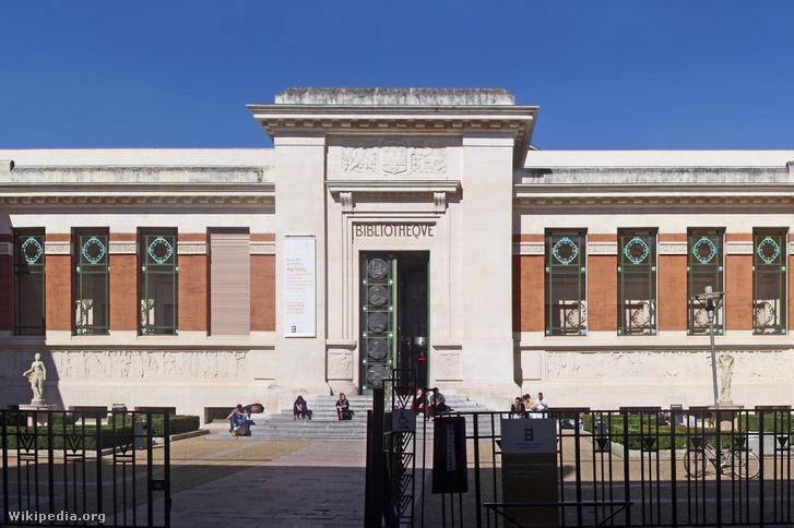 A franciaországi Toulouse város közkönyvtára