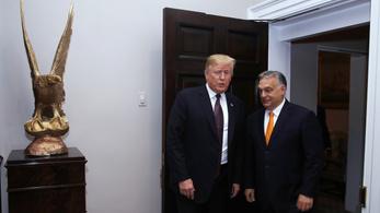 Kislétrával vártam Orbánt washingtoni fogadtatásán
