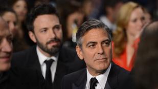 George Clooney azt tanácsolta Ben Afflecknek, ne vállalja el Batmant