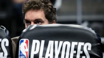 Pau Gasol kihagyja az NBA keleti döntőit és a világbajnokságot