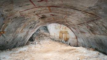 Titkos kamrát találtak Nero palotájának romjai között