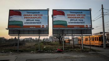 Nem választási jogsértés, ha egy plakátcég hagyja a vadplakátolást