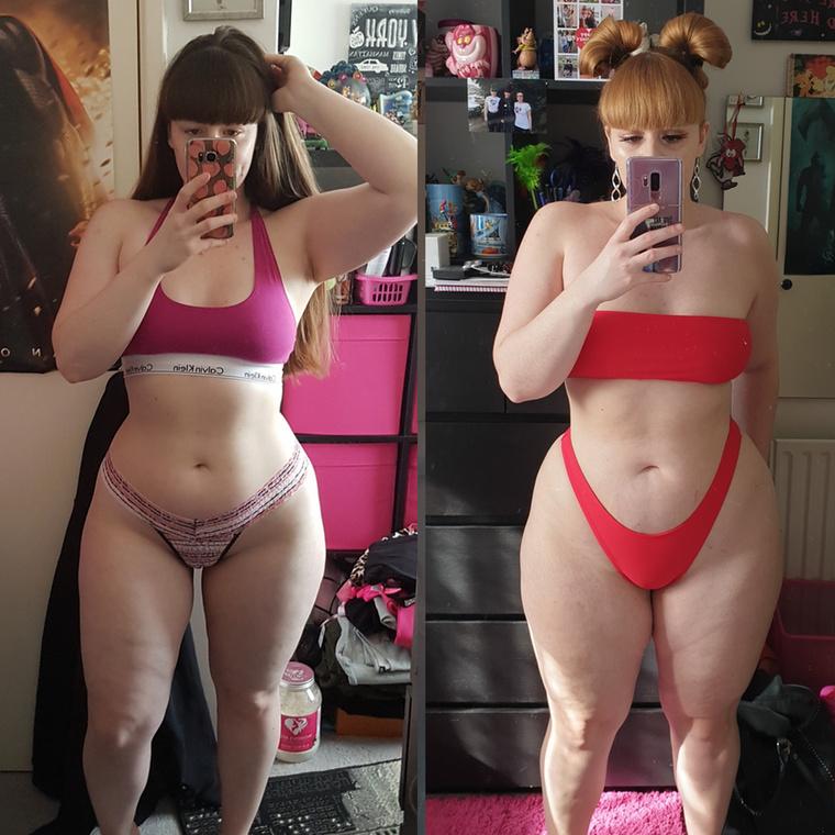....ezért az izzasztó karcióedzésről átváltott a még izzasztóbb súlyemelésre