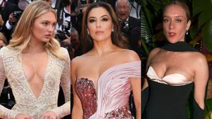 Kivillant egy mellbimbó az idei Cannes-i filmfesztivál megnyitóján