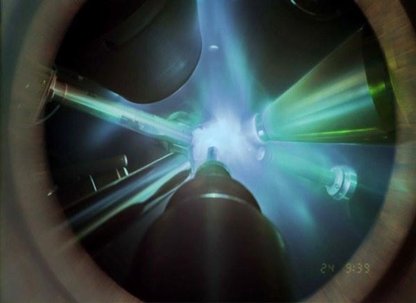 A szuperionos vizet eredményező röntgendifrakciós kísérlet