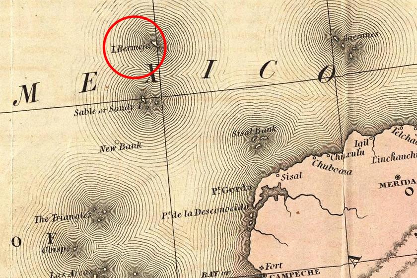 A térképeken szerepelt, még sincs ott a sziget: egyszerűen eltűnt a Föld színéről Bermeja