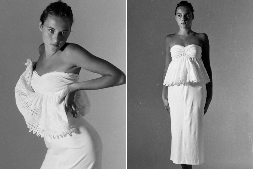 Az eredetileg Melanija Knavs néven született modellről 16 éves korában, 1987-ben lőtte ezeket a fotókat Stane Jerko, a fekete-fehér felvételek pedig azonnal elindították modellkarrierjét.