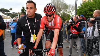 A korábbi bajnok feladta a Giro d'Italiát