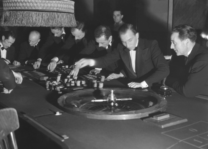 Sanremo kaszinó 1950-ben