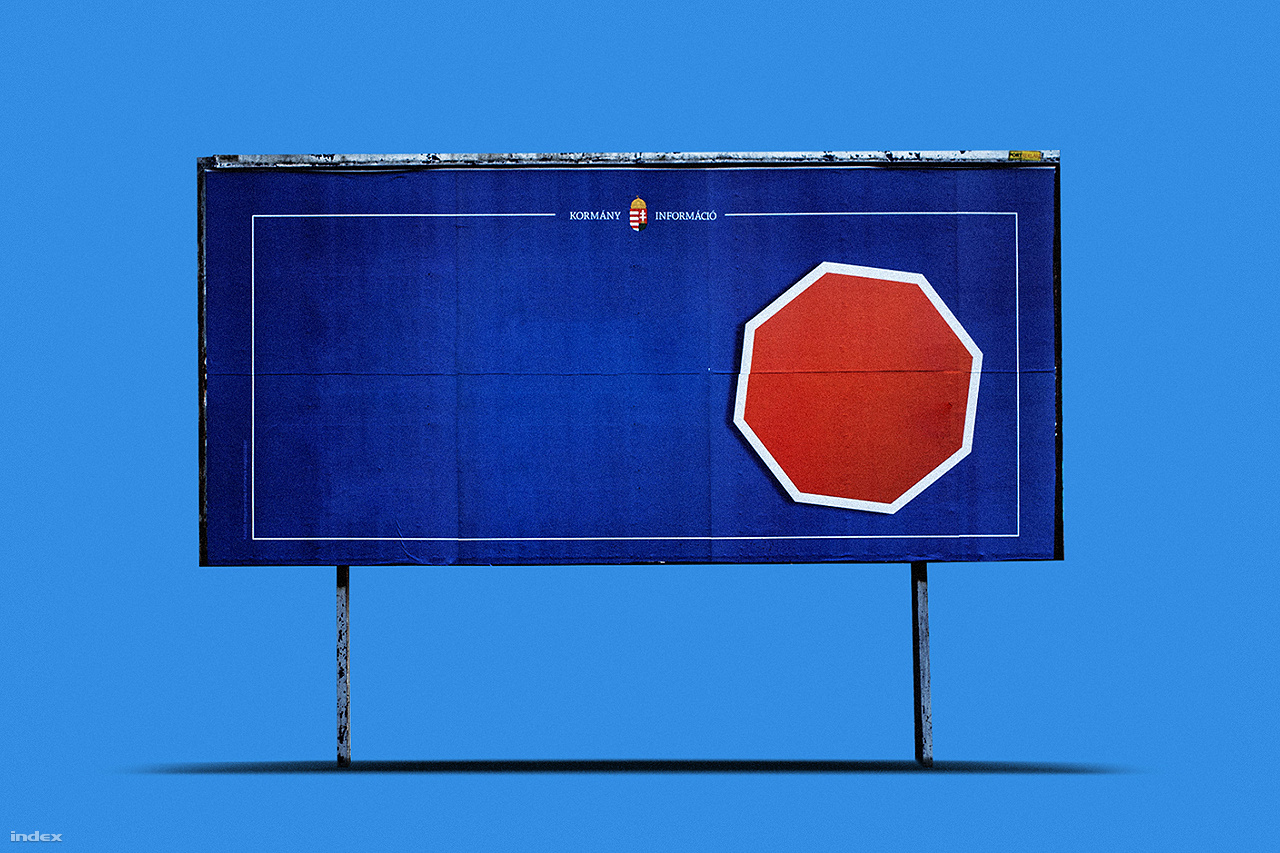 A Stop Soros!-ra, és más, hasonló kampányokra hajazó grafikát Szarvas először elcsépeltnek találta, de azt az ötlet megtetszett neki, mondván úgyis már eljutottunk arra a szintre, hogy ezeknél a kampányoknál azonnal felismerjük a plakátokat, és a szövegeket szinte már el sem olvassuk. Az egyszínű háttér először muszájból készült el, ugyanis kellett egy alap, ami bebiztosítja, hogy az Indexen használt különböző képformátumokban is működik a grafika, de ez lassan koncepcióvá fejlődött.