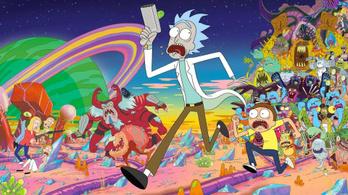 Novemberben érkezik a Rick és Morty negyedik évada