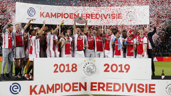 Az Ajax a 34. holland bajnoki címét húzta be