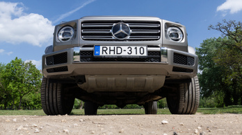 Teszt: Mercedes-Benz G500 – 2019.