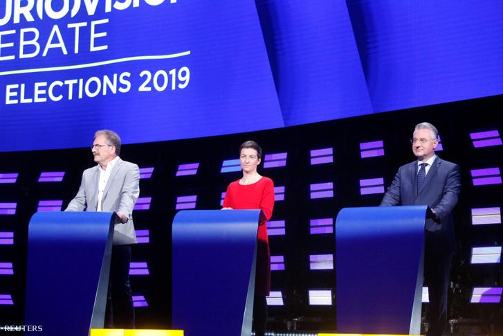 Az Európai Baloldal Pártjától a belga Nico Cué, a Zöldektől a német Ska Keller és a EU-kritikus jobboldalról a cseh EP-képviselő Jan Zahradil.