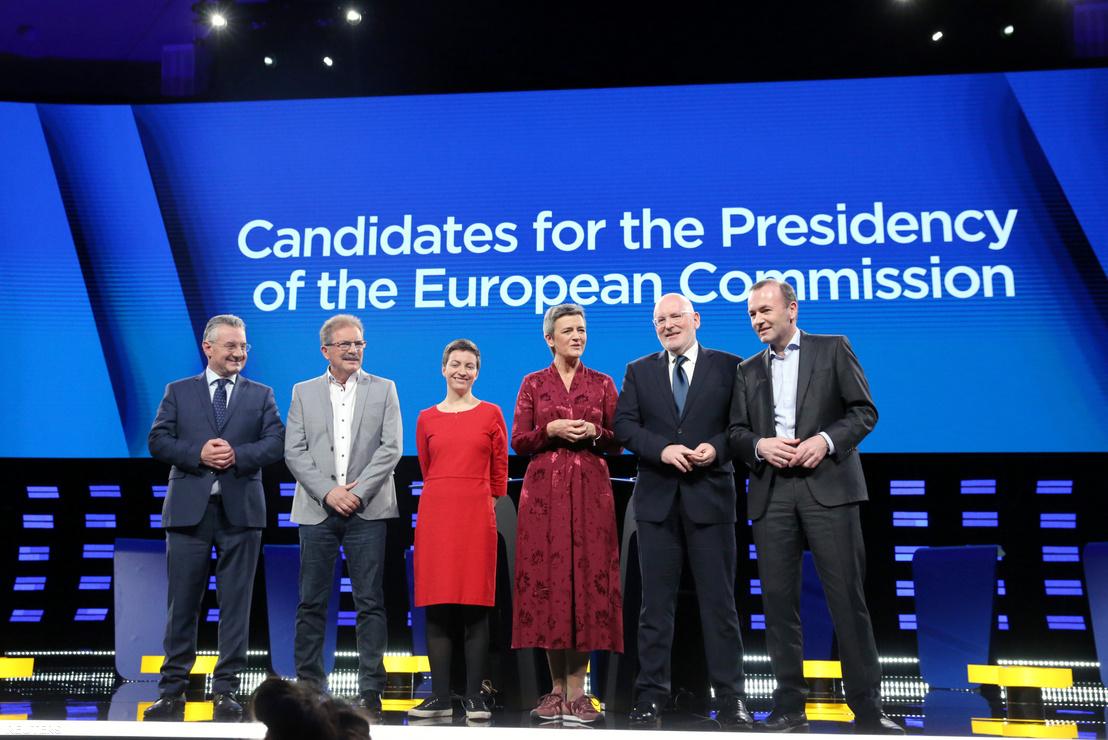 Az európai pártok hat csúcsjelöltje