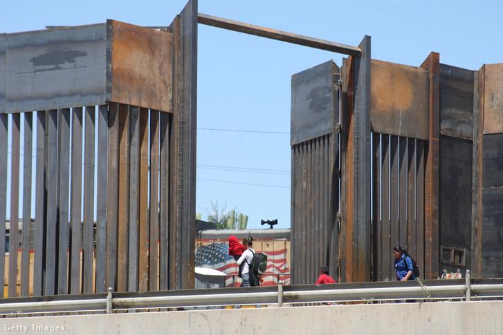 Mexikói menekültek