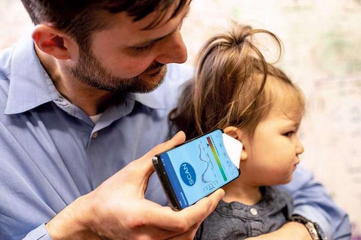 Működésben a középfülgyulladás-diagnosztizáló mobilapp