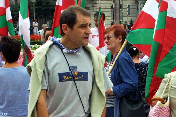 Josu Ternera egy 2002-es demonstráción Bilbao városában.