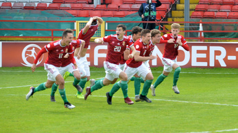 Büntetőkkel verte Belgiumot a magyar U17-es válogatott az Eb-n, kijutott a vb-re