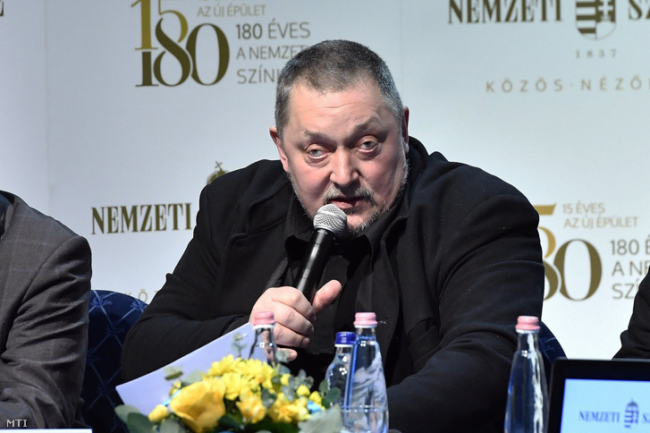 Vidnyánszky Attila, a Nemzeti Színház főigazgatója