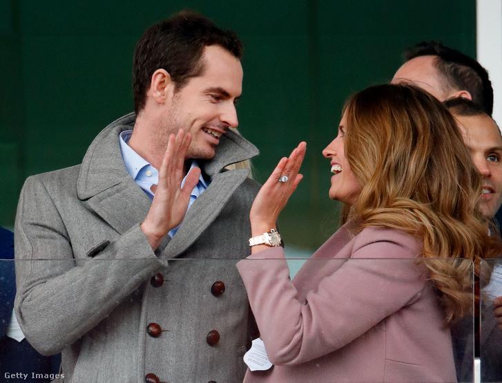 Andy Murray és felesége, Kim Sears