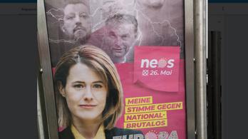 Ausztriában is feltűnt a kampányplakátokon Orbán